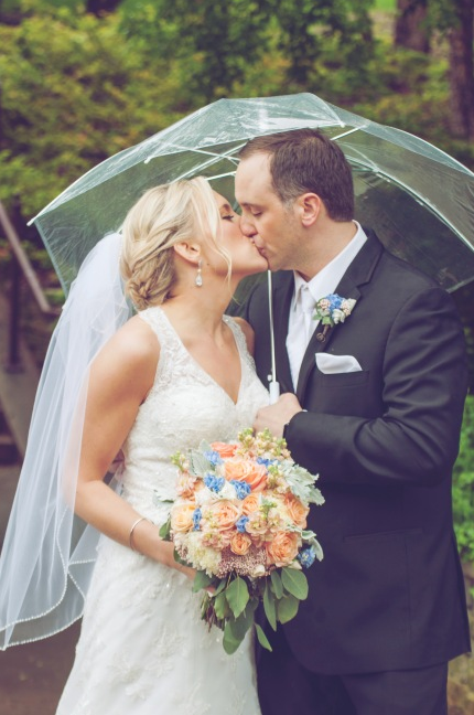 Wedding rainy day - Wedding photographer Studio Delphianblue