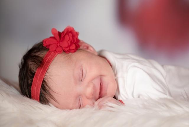 Danielle, Studio Delphianblue, Baby Portrait, Christmas, Minneapolis