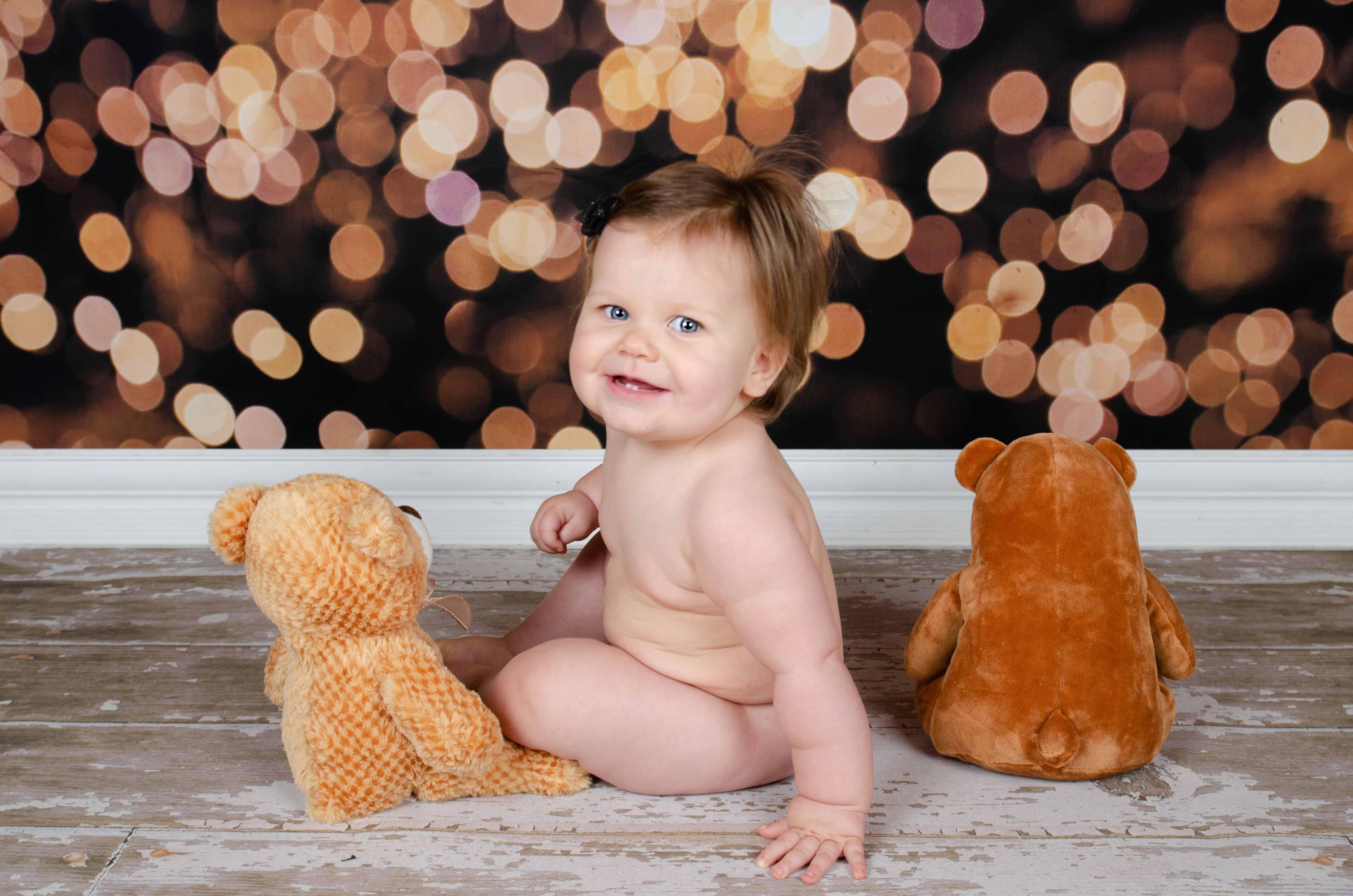 Baby Photography, baby bear - Studio Delphianblue, Burnsville MN Photographer