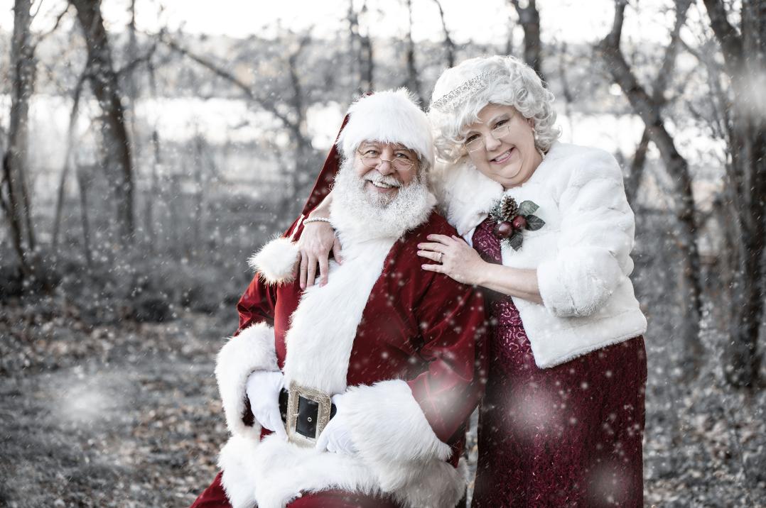 Santa Green - Santa Portrait Session - Photographer Danielle Albrecht
